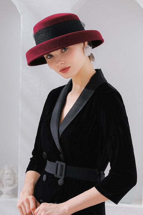 Ecru Emissary | Cocktail Scenic Wool Hat