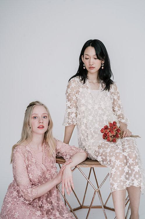 Ecru Emissary   Angelet Embroidery Dress