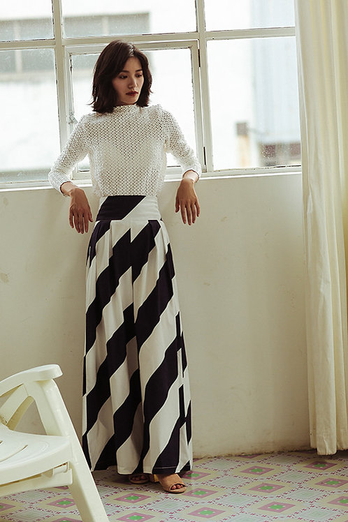 Since Then | Wide Striped Trouser Pant