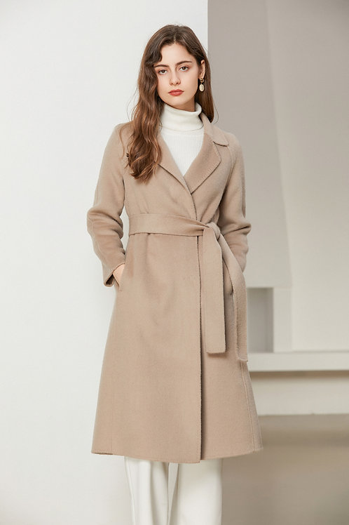 Ecru Emissary | Cloris Wool Coat
