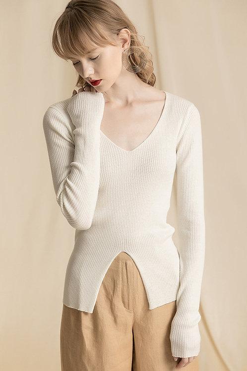 Ecru Emissary | White Sidney Knit