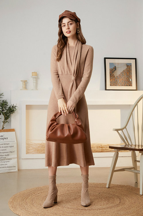 Ecru Emissary | Corrine Knit Dress