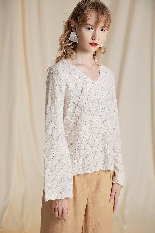 Ecru Emissary | White Lynn Sweater