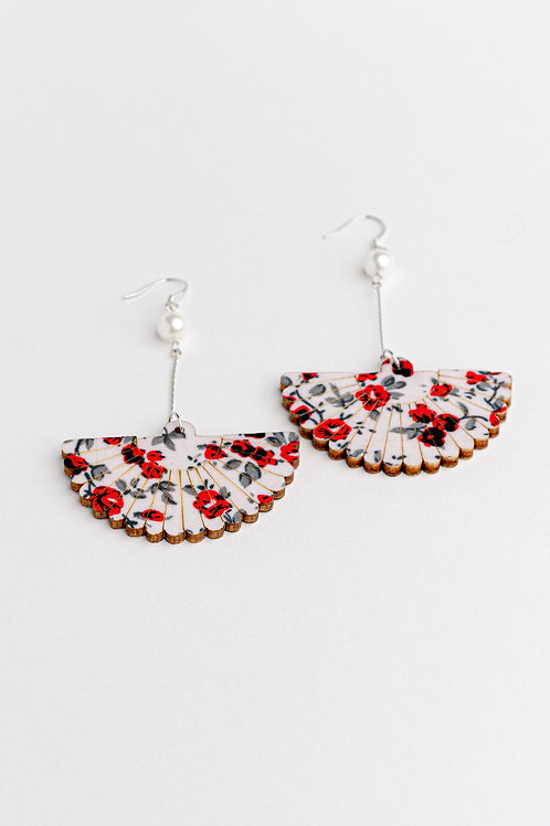 Folding Fan Earrings