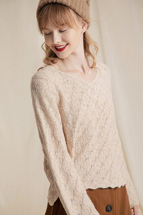 Ecru Emissary | Beige Lynn Sweater