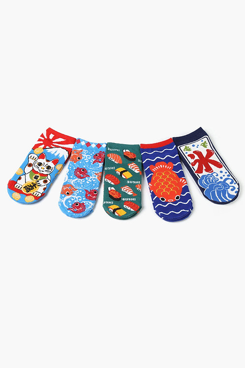 Japanese Ankle Socks Collection