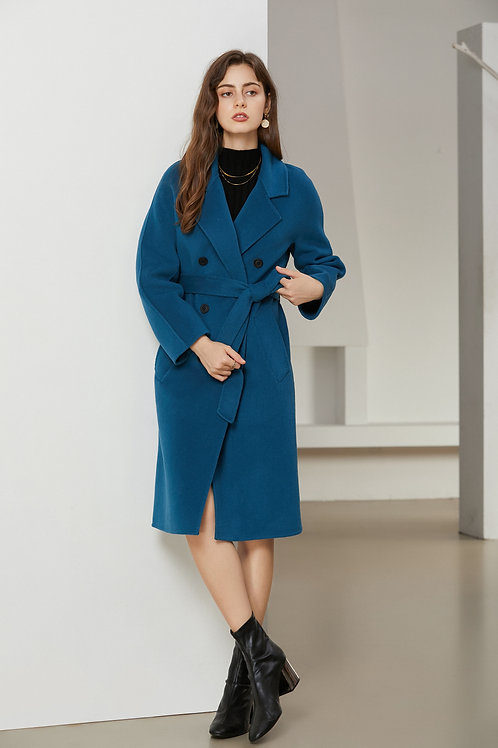Ecru Emissary | Diana Wool Coat