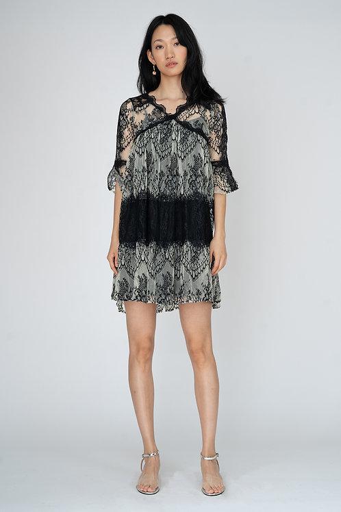 Ecru Emissary | Veronica Lace Dress