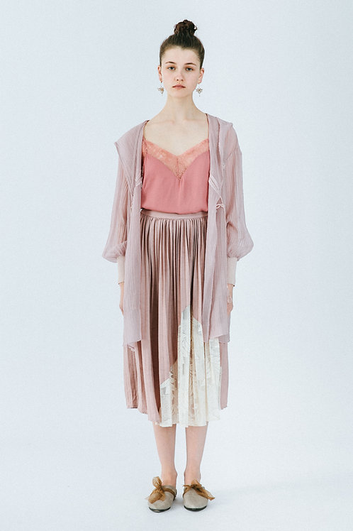 MOLIFUSU | Smoke Pink Cactus Coat