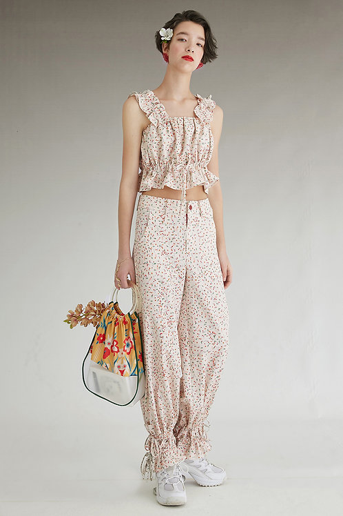 Fussed | Floral Patterned Baggy  Pant