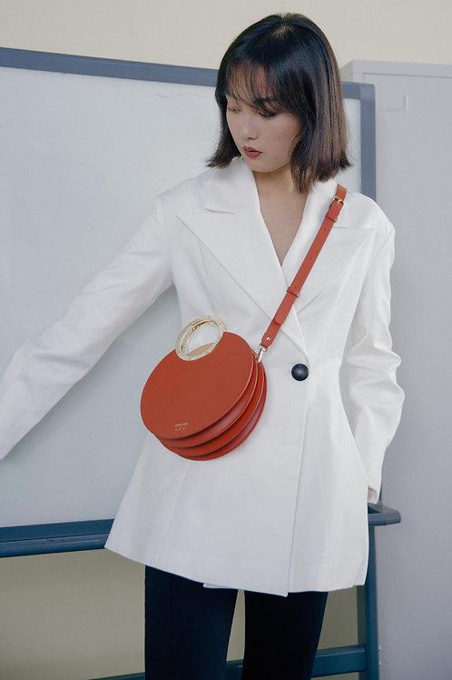 Kitayama | Orange Large Gretel Purse