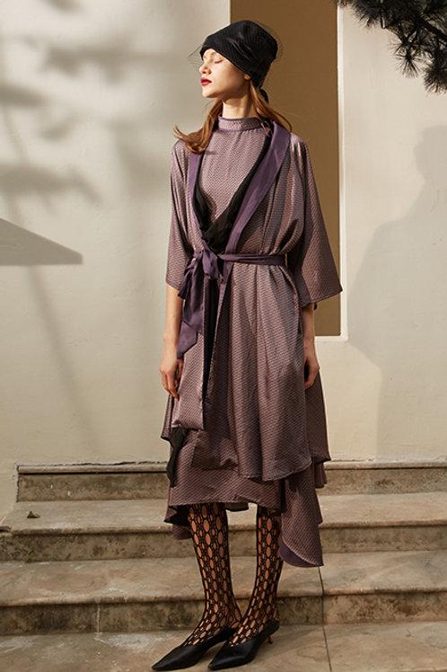 Rimless | Dusty Purple Vintage-style Kimono