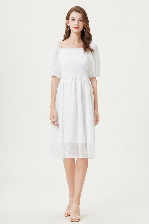 Sylphide | Anaphalis Embroidered Dress