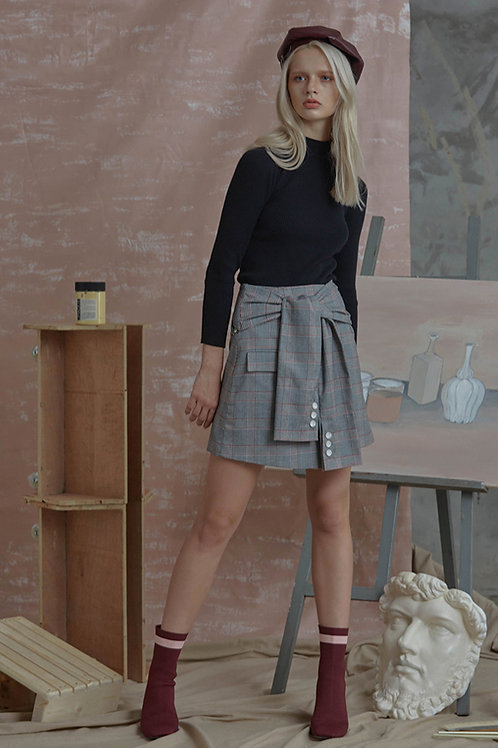 Square X Circle | Chive Skirt