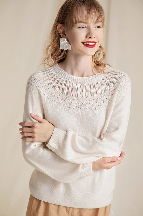 Ecru Emissary | Tanzine Sweater