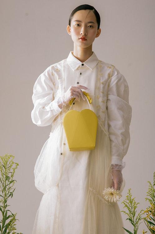 Kitayama | Light Yellow Daisy Purse