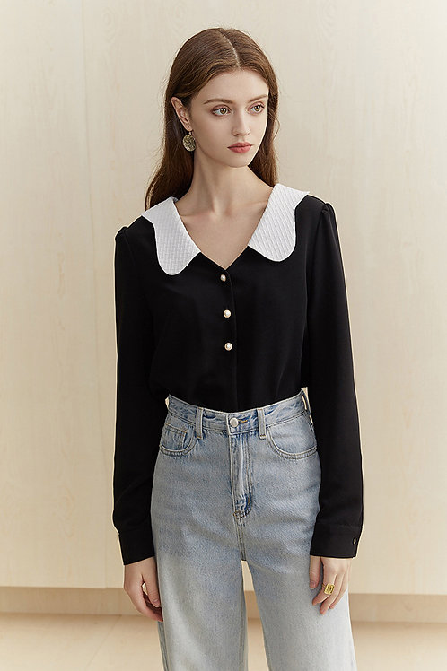 FANSILANEN | Cloud  Black Top