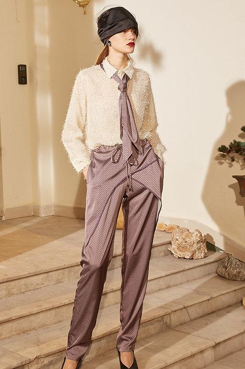 Rimless | Purple Checkered Pant