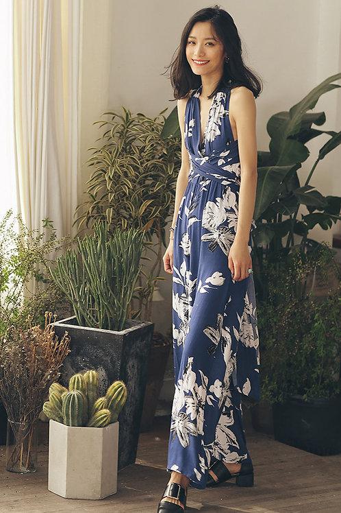 Since Then | Blue Dressy Style Jumpsuit