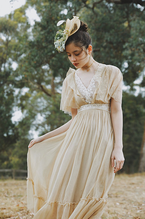MoliFusu | Summer Gardenia Dress