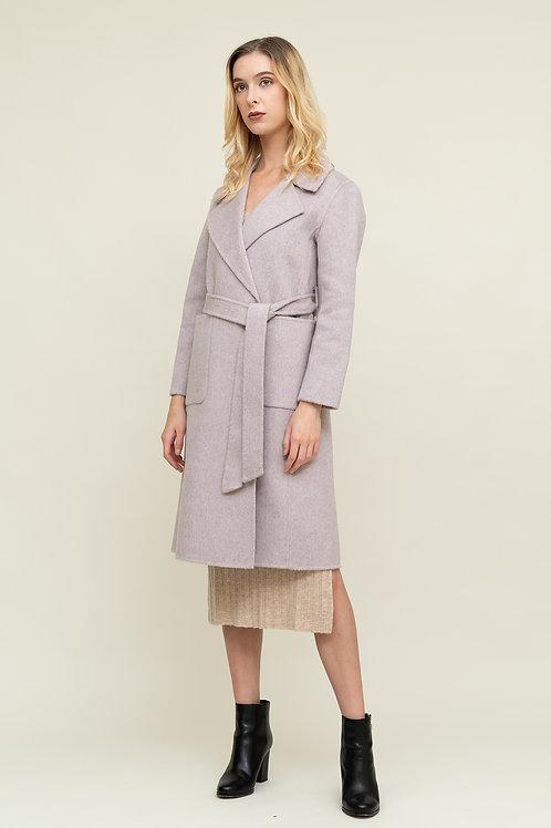 Ecru Emissary |  Pink Purple Linus Coat