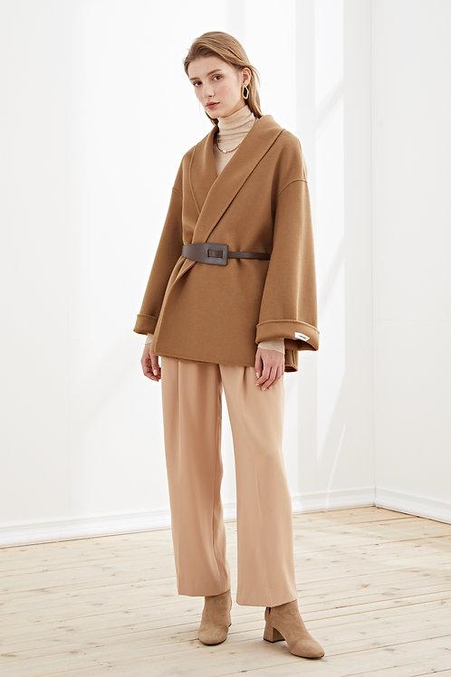 Ecru Emissary | Adelaide Wool Coat