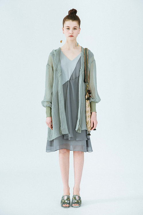 MOLIFUSU | Smoke Green Cactus Coat