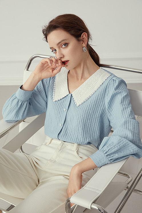 FANSILANEN | Frangipani Lace Shirt
