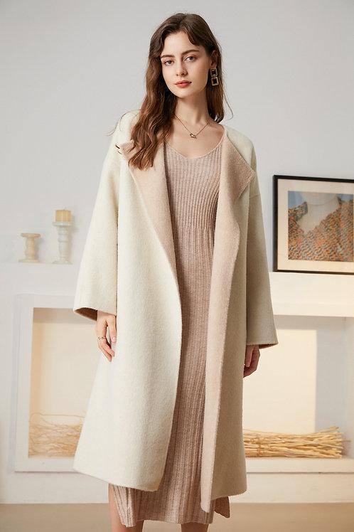 Ecru Emissary | Blanche Scarf Coat