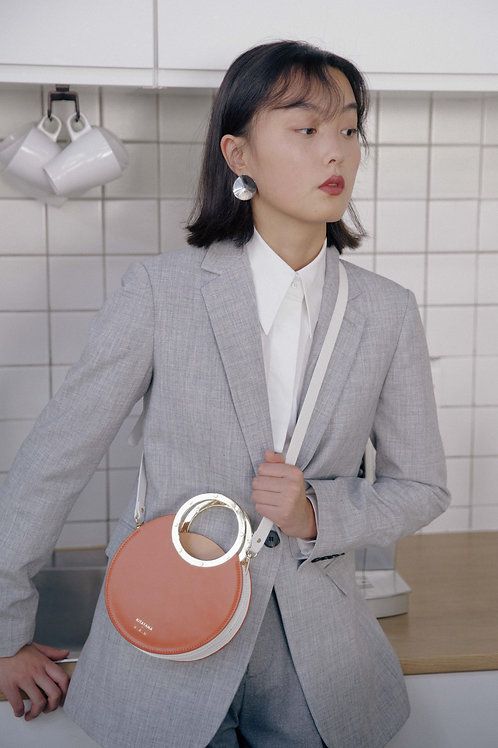 Kitayama | Light Orange Small Gretel Purse