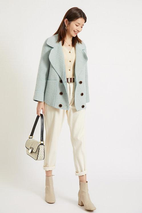 Ecru Emissary | Blue Eira Coat