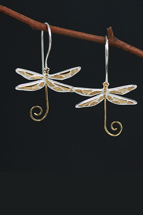 The Dragonfly Earrings