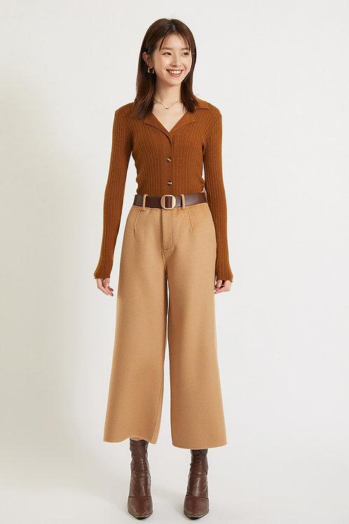 Ecru Emissary | Brown Venus Pants