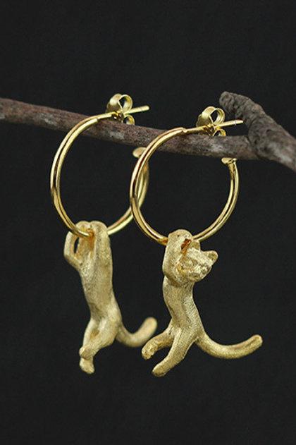 Naughty Cats Earrings