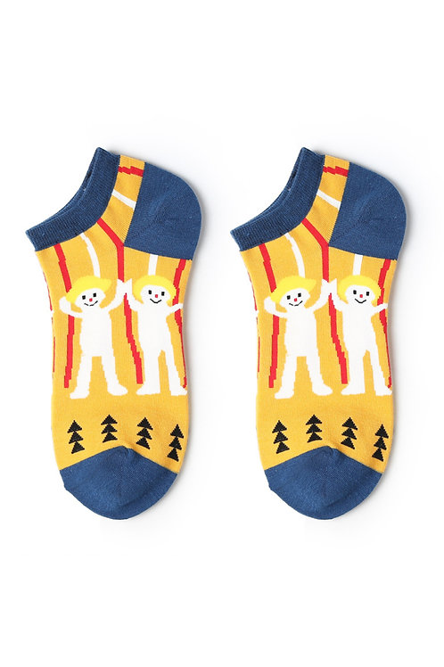 Cartoon Ankle Socks