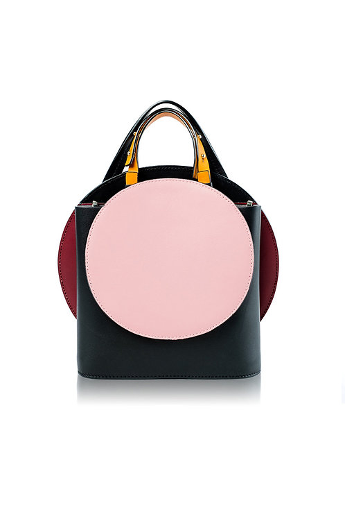 Incomplete  Black Circle Bag
