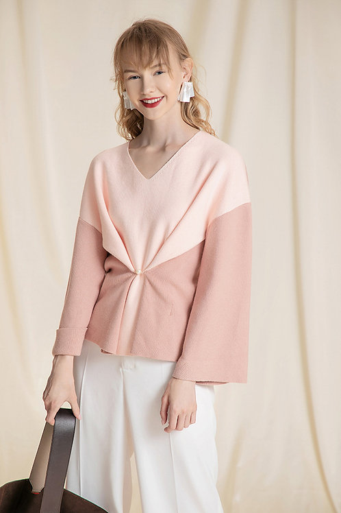 Ecru Emissary | Pink Eleanor Sweater