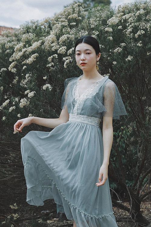 MoliFusu| Summer Gardenia Dress