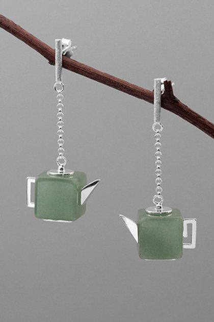 The Little Tea Pot Earrings