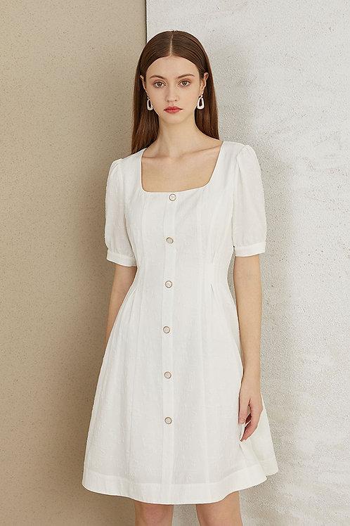 FANSILANEN   Mariela White Dress