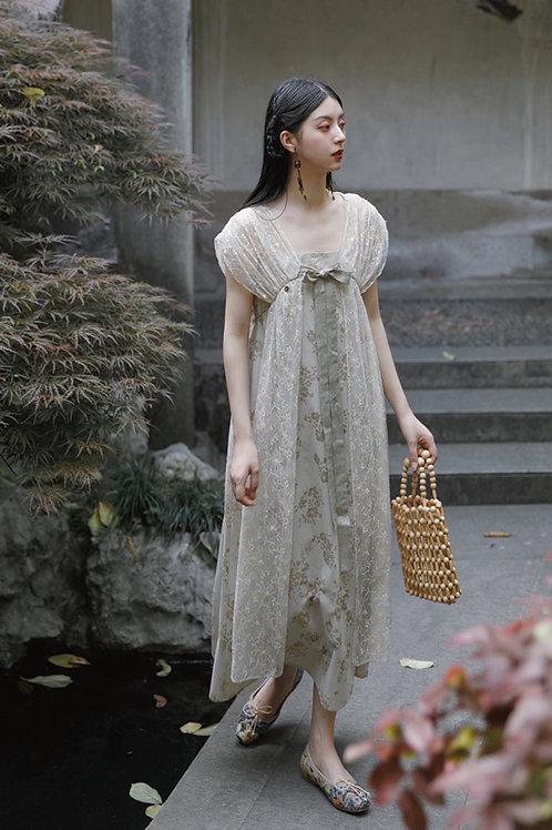 MOLIFUSU   Magnolia Lace Dress