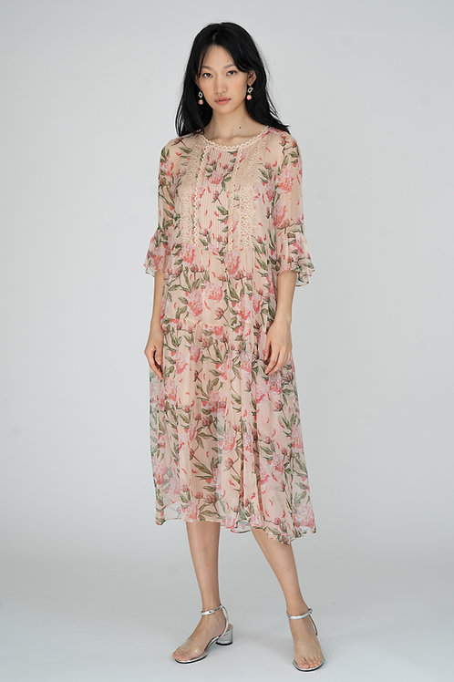 Ecru Emissary | Roxanne Maxi Dress