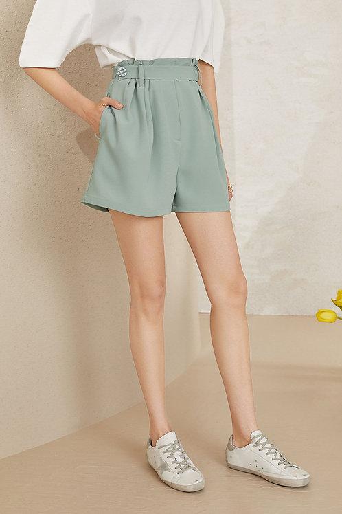 FANSILANEN | Alida Green Shorts