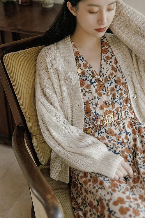 MOLIFUSU | Jenny Crochet Cardigan