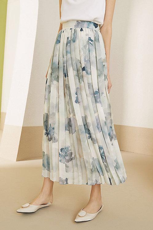 FANSILANEN | Wash Painting Maxi Skirt