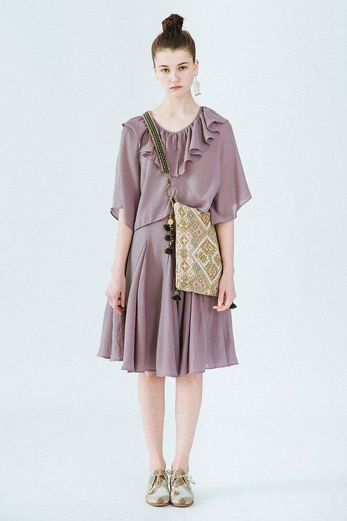 MOLIFUSU | Purple Thistle Two-set Dress