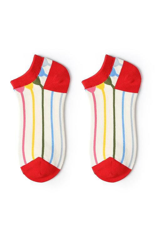 Stipes Ankle Socks