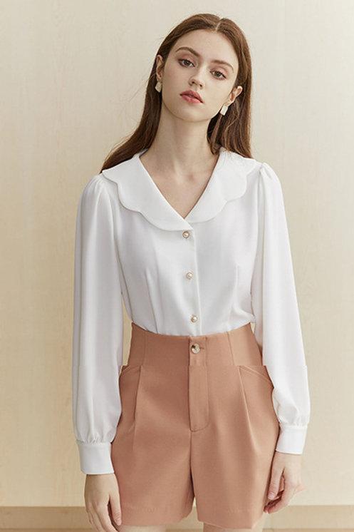FANSILANEN | Petal White  Shirt