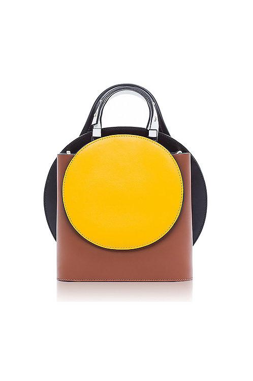 Incomplete | Brown Circle Bag