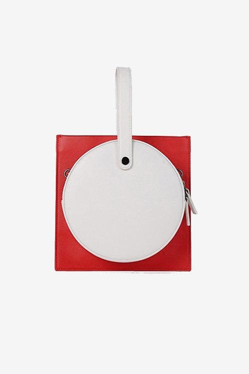 Treble_Z | Red Square Shoulder Bag